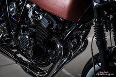 1975 Honda CB750 'Titan' by Gasser Customs     Pipeburn.com