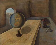 "Arte del Holocausto ""El refugiado(1939)"" Felix Nüssbaum (1904-1944)"