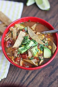Chicken Tortilla Soup by BakeYourDay