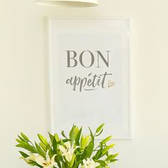 Bon Appétit  Printable Sign