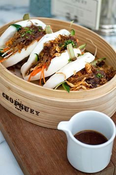 chopsuey cafe: crispy duck pow