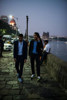 #SuitsAndKicks #AneevRao #FashionStory  #NikeAirmax #Photostory #Fashion #India #Collaboration #Sneakers #Sneakerculture #Kicks     Read full story on Homegrown: http://homegrown.co.in/unlikely-pairings-arman-menzies-rahul-chhabria-make-suits-kicks-look-like-long-lost-friends/