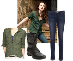 bella swan casual..i know it's from Twilight but love her style