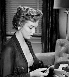 """beauvelvet: """" """"Marilyn Monroe as Nell Forbes in Don't Bother to Knock, 1952. """" """""""