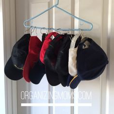 s the best organizing ideas of 2015 that you should do this year too, organizing, Keeping Baseball Caps in Order for a Dollar