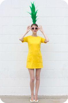 disfraz de piña