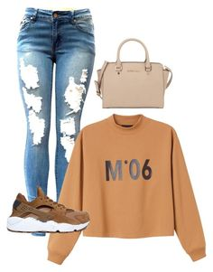 """Untitled #203"" by shaniabowen ❤ liked on Polyvore featuring Monki, NIKE and MICHAEL Michael Kors"