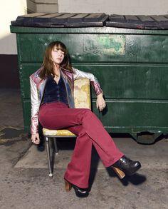 Britt Robertson in Girlboss... I miss my Jeffrey Campbell Lita's! Sold them on eBay :(