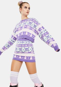 Rave Outfits, Classy Outfits, Festival Skirts, Flame Design, Sweater Skirt, Leather Mini Skirts, Long Sleeve Mini Dress, Festival Fashion, Skort