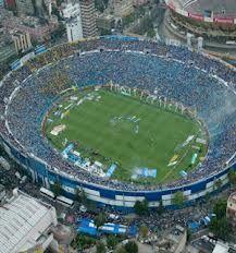 Estadio Azul en Mexico, DF Casa de los Cementeros del Cruz Azul