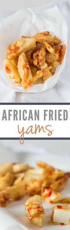 These Easy 'African Yam Fries' make a delightfully different side dish.  | Recipes From A Pantry