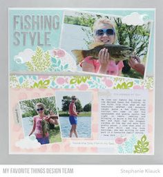 scrapbook layout! :) I'm sharing it today over on the MFT Stamps YouTube channel and I share fu...