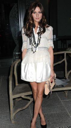 Olivia Palermo - girly glamour.
