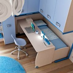 Diy Furniture Small Spaces Apartments - New ideas Room Design Bedroom, Home Room Design, Small Room Bedroom, Bedroom Decor, House Design, Bed Room, Bedroom Bed, Space Saving Furniture, Furniture For Small Spaces