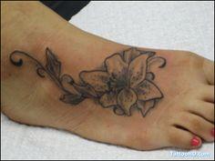 Flor De Loto Tatuaje Imagenes En El Pie Tatuajes La