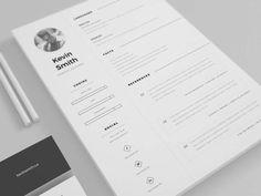 modelos de curriculum vitae modernos y elegantes resume layoutdesign