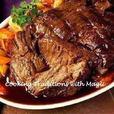 Cocinando Tradiciones con Magli: Carne en olla de cocción lenta