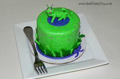 Mini Grasshopper Cakes
