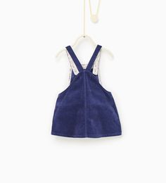 Basic corduroy dress-DRESSES-Baby girl-Baby   3 months - 3 years-KIDS   ZARA United States