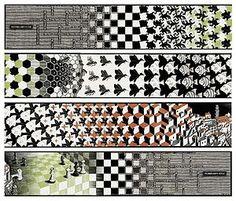 Metamorphosis II es un grabado en madera a tres colores en forma de tira realizado en 1940 por el artista M. C. Escher. Sus medidas son 19.5 cm por 4 metros.
