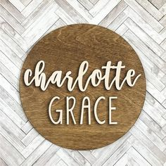 Custom First Name Middle Name Wood Sign Baby Name Nursery Wood Name Sign, Name Signs, Wood Signs, Cute Baby Names, Baby Girl Names, Kid Names, Baby Girls, Diy Baby Gifts, Baby Shower Gifts