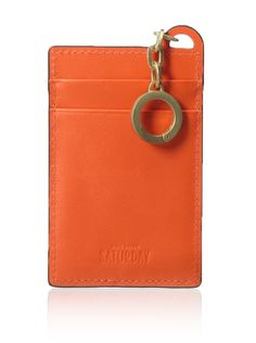 Kate Spade Saturday Women's I.D. Holder With Keychain, Red/Flame, One Size at MYHABIT