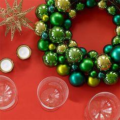 Anngarsk green Christmas wreath