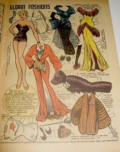 Keen on Katy Vintage Paper Dolls, Vintage Barbie, Paper Art, Paper Crafts, Image Paper, Art Folder, Kids Playing, Dollhouse Miniatures, Coloring Pages