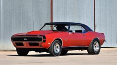 1968 Chevrolet Camaro RS/SS Motion Phase III L88 427 CI, 4-Speed, 4,085 Miles presented as lot F170 at Kissimmee, FL