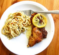 Highjacked! Lemon Chicken with Pasta • Brittany Stager