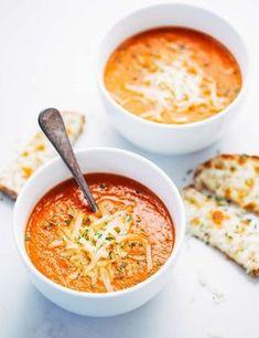 soupe tomate minceur recette brûle graisse