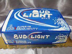 37 Ideas Birthday Cake For Husband Men Bud Light For 2019 Birthday Cake For Husband, New Birthday Cake, Birthday Ideas, Birthday Recipes, Husband Cake, Birthday Beer, 20th Birthday, Birthday Parties, Happy Birthday
