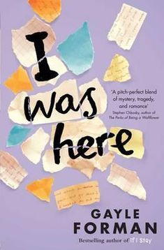 As many of you reading this will probably already know, I took part in the first WHSmith Zoella Book Club during the summer and fell in l. I was here by Gayle Forman - Janay Brazier Best Books To Read, Ya Books, Book Club Books, Good Books, Books To Buy, Book Clubs, Book Suggestions, Book Recommendations, Zoella Book Club