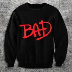 Shop for sweatshirt on Etsy, the place to express your creativity through the buying and selling of handmade and vintage goods. Gipsy Danger, Michael Jackson Bad, Michael Jackson Clothes, Jackson Family, The Jacksons, Comfy Pants, Culottes, Fashion Line, Couture