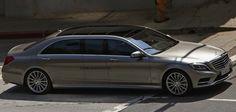 Mercedes-Benz S-Class Pullman rendering