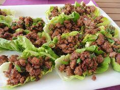 Prostmahlzeit: Faschiertes im Salatblatt