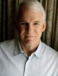 Steve Martin, b. 1945, American comedian, actor/writer/producer, musician and painter at 66