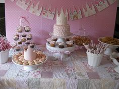 shabby pink princess party