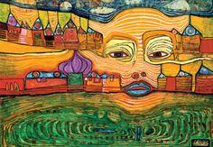 Exposition Dans la peau d'Hundertwasser au musée en Herbe | Expositions à Paris - Expo In The City