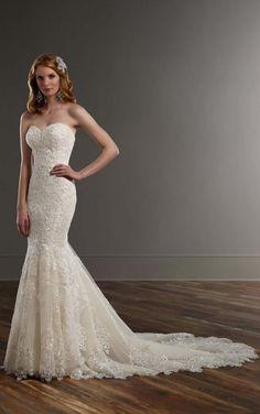 771 Sweetheart Neckline Wedding Gown by Martina Liana