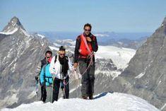 7 spektakuläre Hochtouren in den Alpen – TRAVELBOOK Mount Everest, Mountains, Places, Nature, Travel, Outdoor, Mountain Climbing, Climbing, Alps