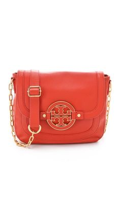 Tory Burch Amanda Cross Body Bag in Wildberry