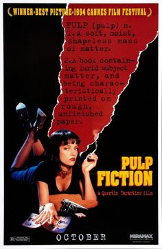 Click to View Extra Large Poster Image for Pulp Fiction