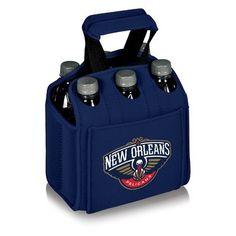 6 Can NBA Picnic Cooler Color Navy NBA Team New Orleans Pelicans ** See this great product.(This is an Amazon affiliate link and I receive a commission for the sales)