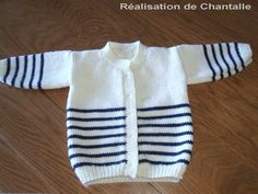 Best ideas for knitting baby pullover crochet sweaters Baby Knitting Patterns, Baby Cardigan Knitting Pattern Free, Baby Patterns, Free Knitting, Baby Boy Cardigan, Cardigan Bebe, Crochet Baby Cardigan, Knit Baby Sweaters, Tricot Baby
