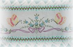 Embroidered Butterfly Home Accent Pillow http://www.kittyandmedesigns.com