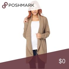 🌟🌟New Item 🌟🌟 Tan Cardigan A tan Cardigan perfect with a pair of warm boots your favorite pair of jeans  or so much more. Sweaters Cardigans