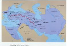 Persian Empire at the time of the Persian Wars (499-479 B.C.)