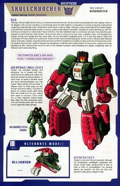 Transformers Universe - Gallery: G1 Skullcruncher