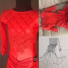 Dance Dresses, Girls Dresses, Ballroom Dress, Ruffle Blouse, Collection, Women, Fashion, Latin Dance, Dresses Of Girls
